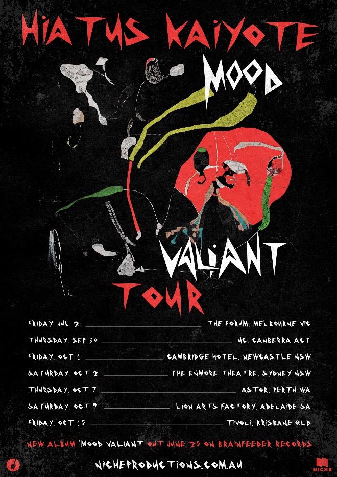 HIATUS KAIYOTE ANNOUNCES NATIONAL ALBUM TOUR