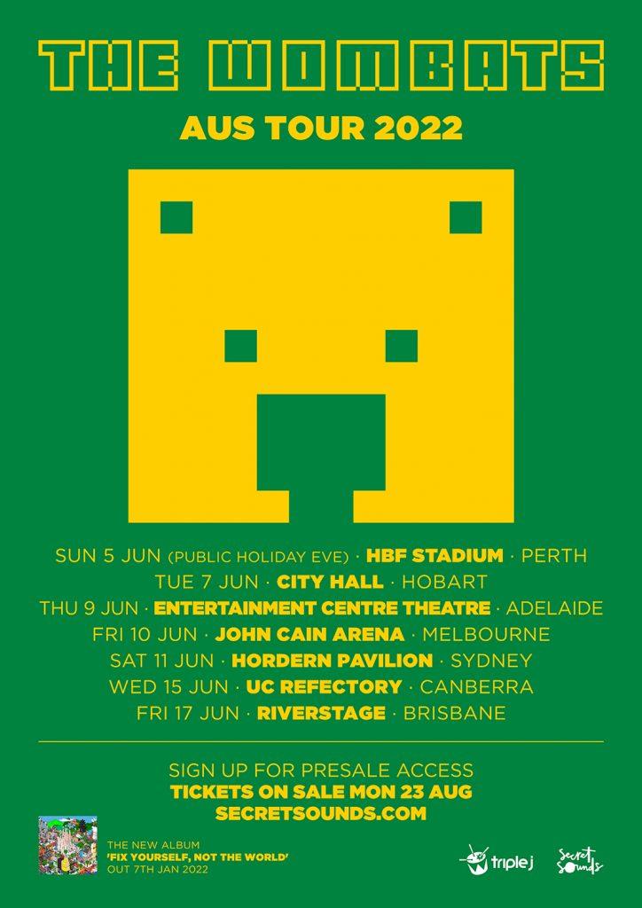 The Wombats Aus Tour 2022